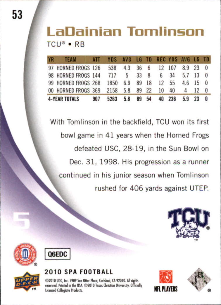 2010-SP-Authentic-Football-Card-s-1-100-A1730-You-Pick-10-FREE-SHIP thumbnail 107