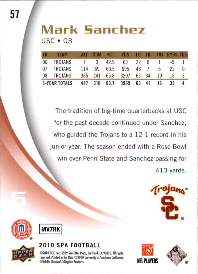 2010-SP-Authentic-Football-Card-s-1-100-A1730-You-Pick-10-FREE-SHIP thumbnail 115