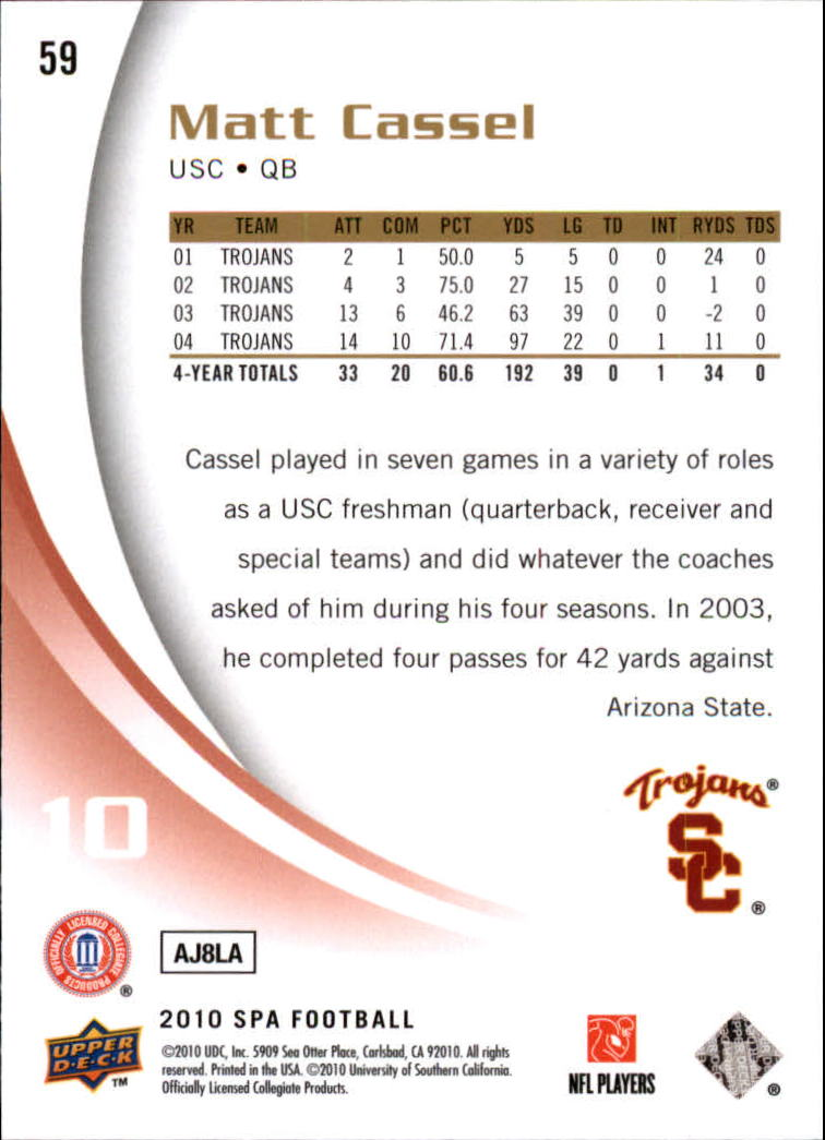 2010-SP-Authentic-Football-Card-s-1-100-A1730-You-Pick-10-FREE-SHIP thumbnail 119