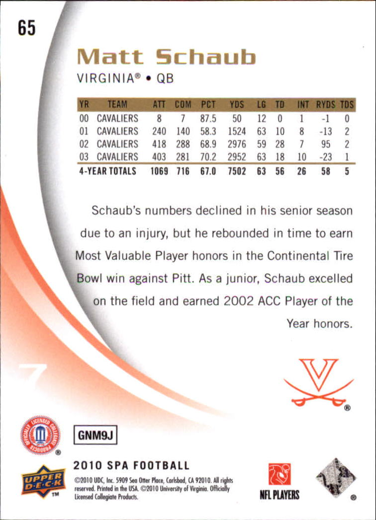 2010-SP-Authentic-Football-Card-s-1-100-A1730-You-Pick-10-FREE-SHIP thumbnail 131