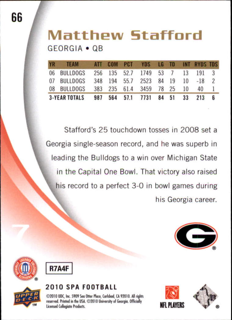 2010-SP-Authentic-Football-Card-s-1-100-A1730-You-Pick-10-FREE-SHIP thumbnail 133