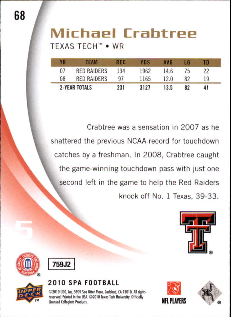 2010-SP-Authentic-Football-Card-s-1-100-A1730-You-Pick-10-FREE-SHIP thumbnail 137