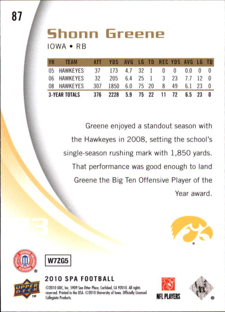 2010-SP-Authentic-Football-Card-s-1-100-A1730-You-Pick-10-FREE-SHIP thumbnail 173