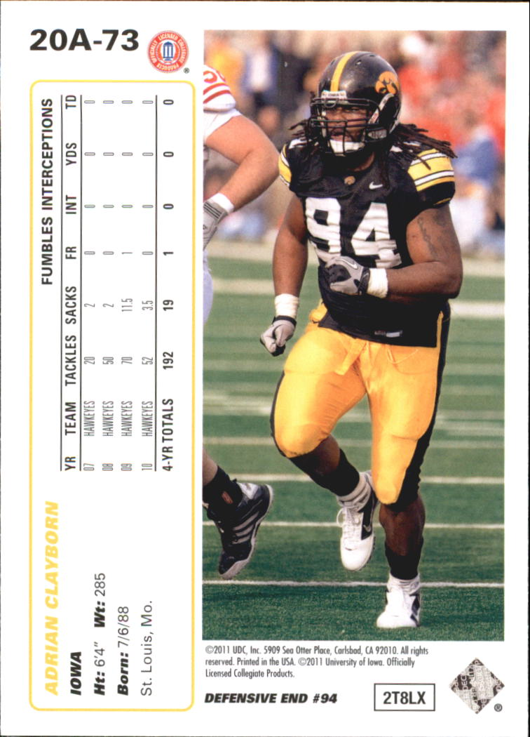 2011-Upper-Deck-FB-20th-Anniversary-Inserts-You-Pick-Buy-10-cards-FREE-SHIP thumbnail 98