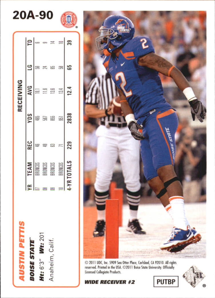 2011-Upper-Deck-FB-20th-Anniversary-Inserts-You-Pick-Buy-10-cards-FREE-SHIP thumbnail 127