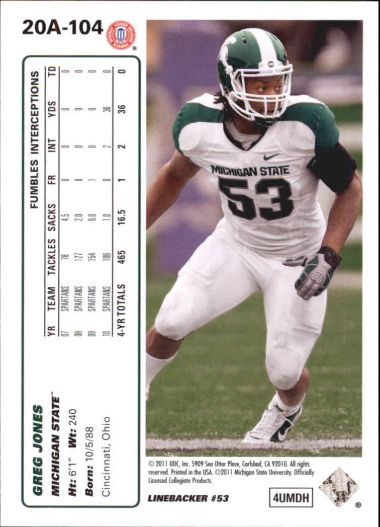 2011-Upper-Deck-FB-20th-Anniversary-Inserts-You-Pick-Buy-10-cards-FREE-SHIP thumbnail 149
