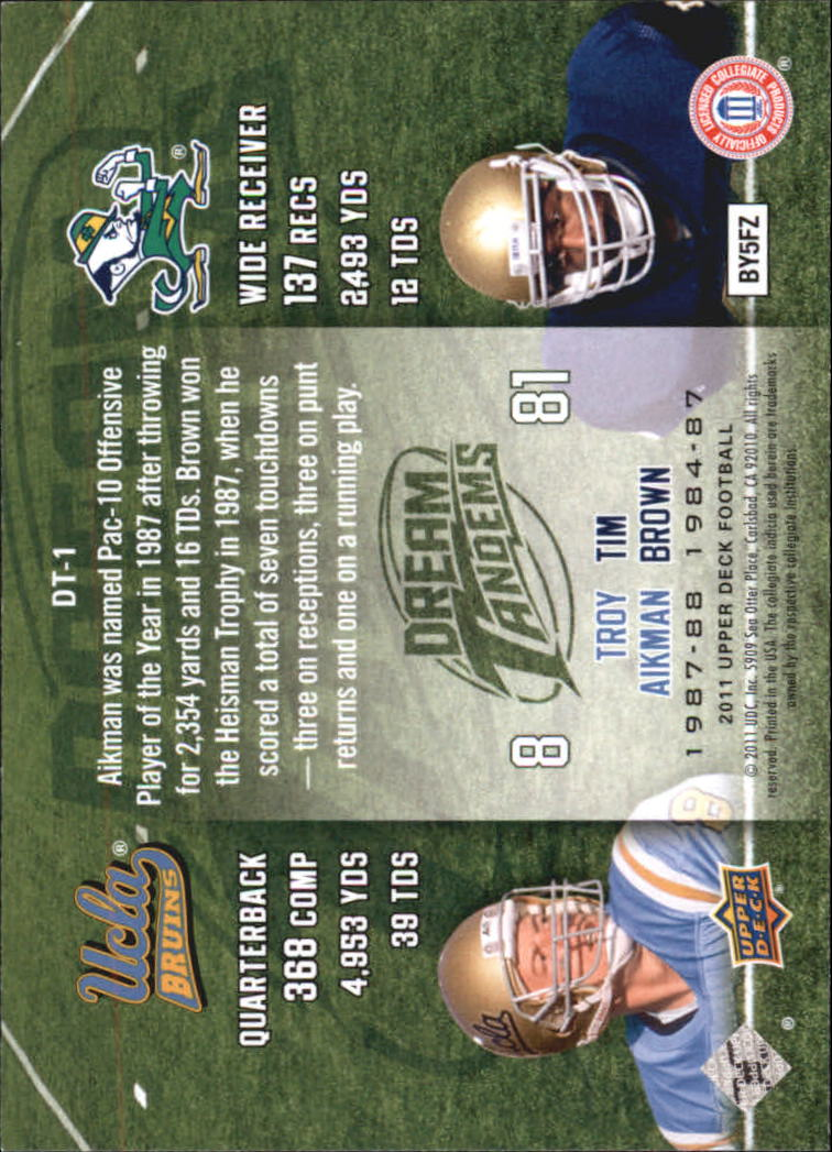 2011-Upper-Deck-FB-20th-Anniversary-Inserts-You-Pick-Buy-10-cards-FREE-SHIP thumbnail 322