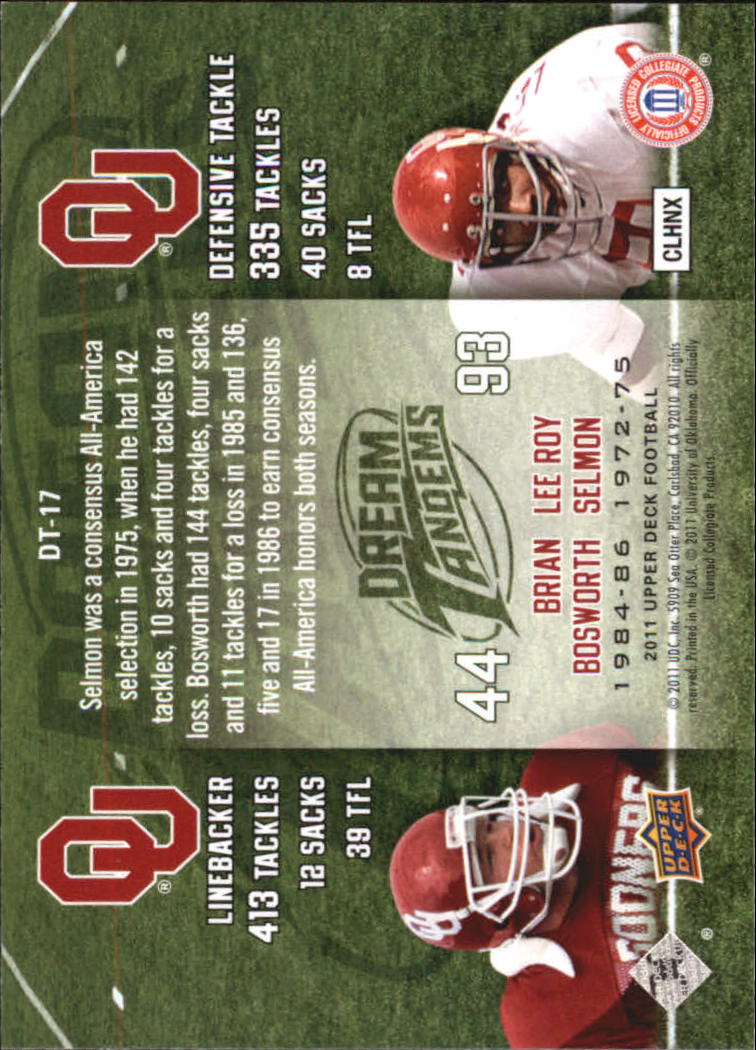 2011-Upper-Deck-FB-20th-Anniversary-Inserts-You-Pick-Buy-10-cards-FREE-SHIP thumbnail 350