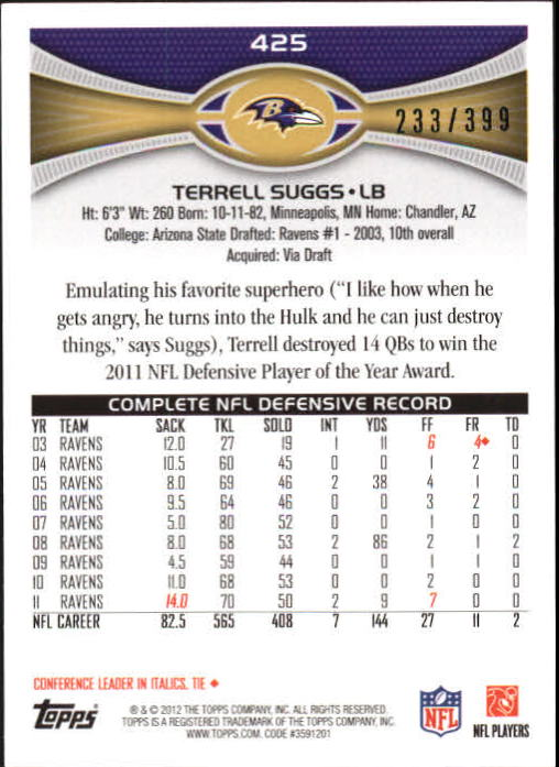 2012-Topps-Pink-Football-251-500-Your-Choice-GOTBASEBALLCARDS thumbnail 9