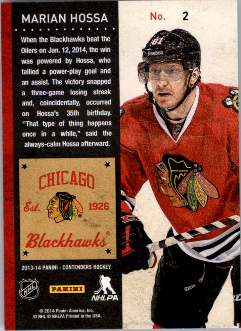 2013-14-Panini-Contenders-Hockey-Pick-Card-From-List thumbnail 3