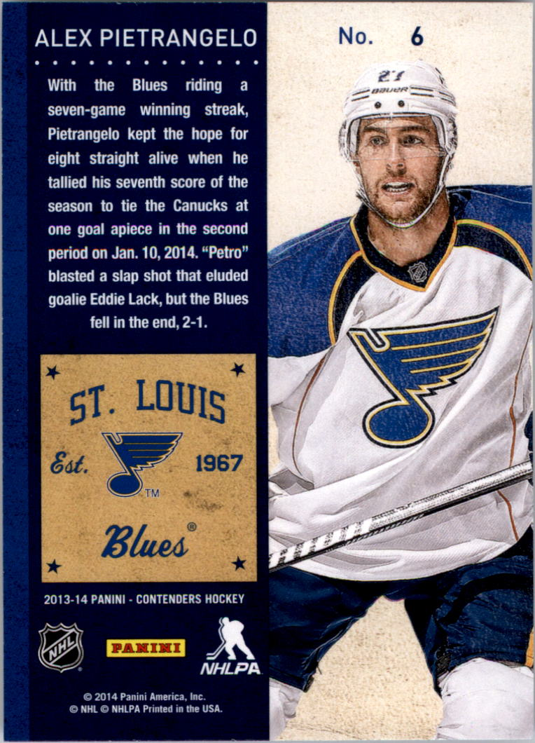 2013-14-Panini-Contenders-Hockey-Pick-Card-From-List thumbnail 9