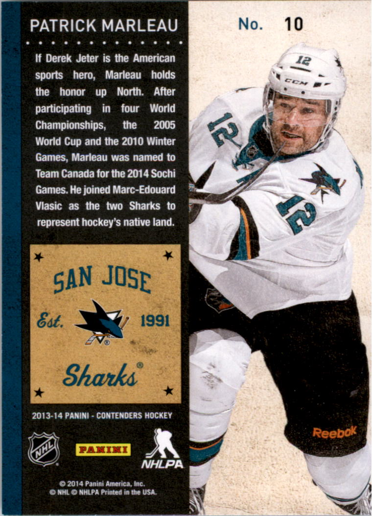 2013-14-Panini-Contenders-Hockey-Pick-Card-From-List thumbnail 15