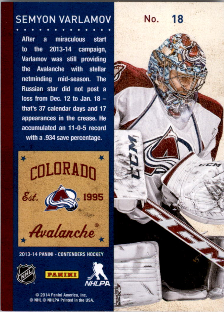 2013-14-Panini-Contenders-Hockey-Pick-Card-From-List thumbnail 25