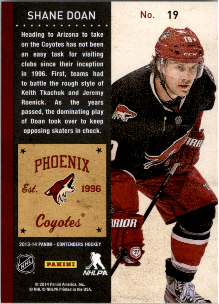 2013-14-Panini-Contenders-Hockey-Pick-Card-From-List thumbnail 27