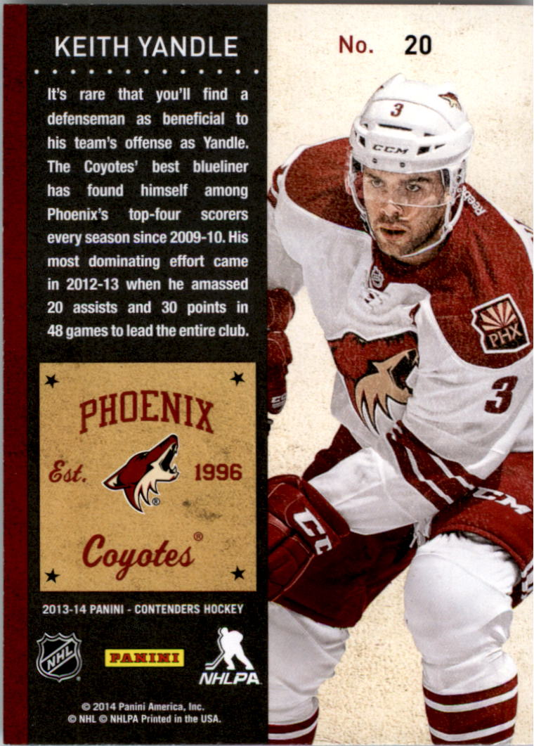 2013-14-Panini-Contenders-Hockey-Pick-Card-From-List thumbnail 29