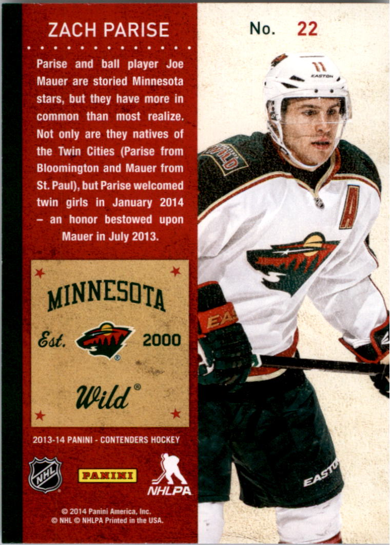 2013-14-Panini-Contenders-Hockey-Pick-Card-From-List thumbnail 33