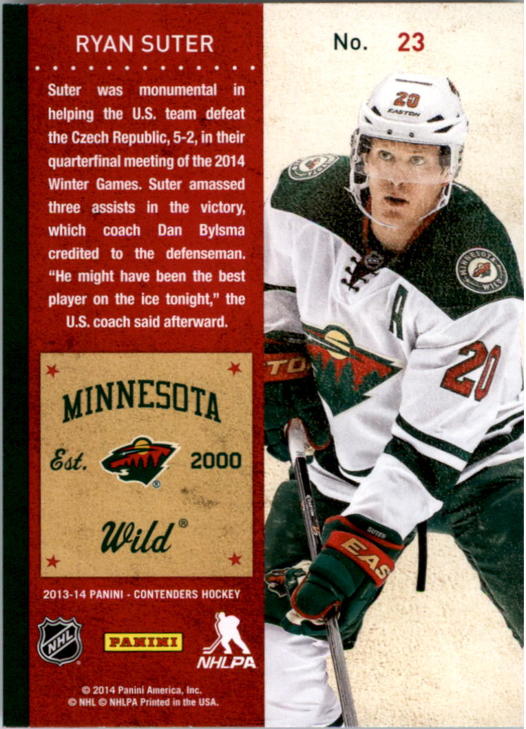 2013-14-Panini-Contenders-Hockey-Pick-Card-From-List thumbnail 35