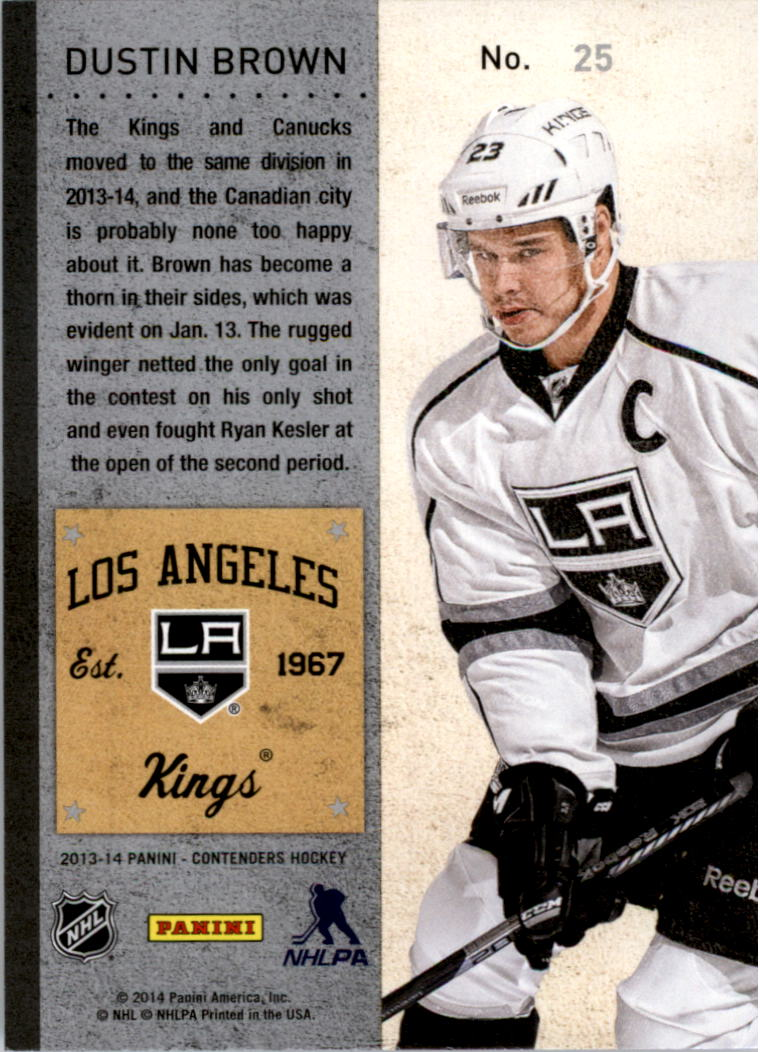 2013-14-Panini-Contenders-Hockey-Pick-Card-From-List thumbnail 37