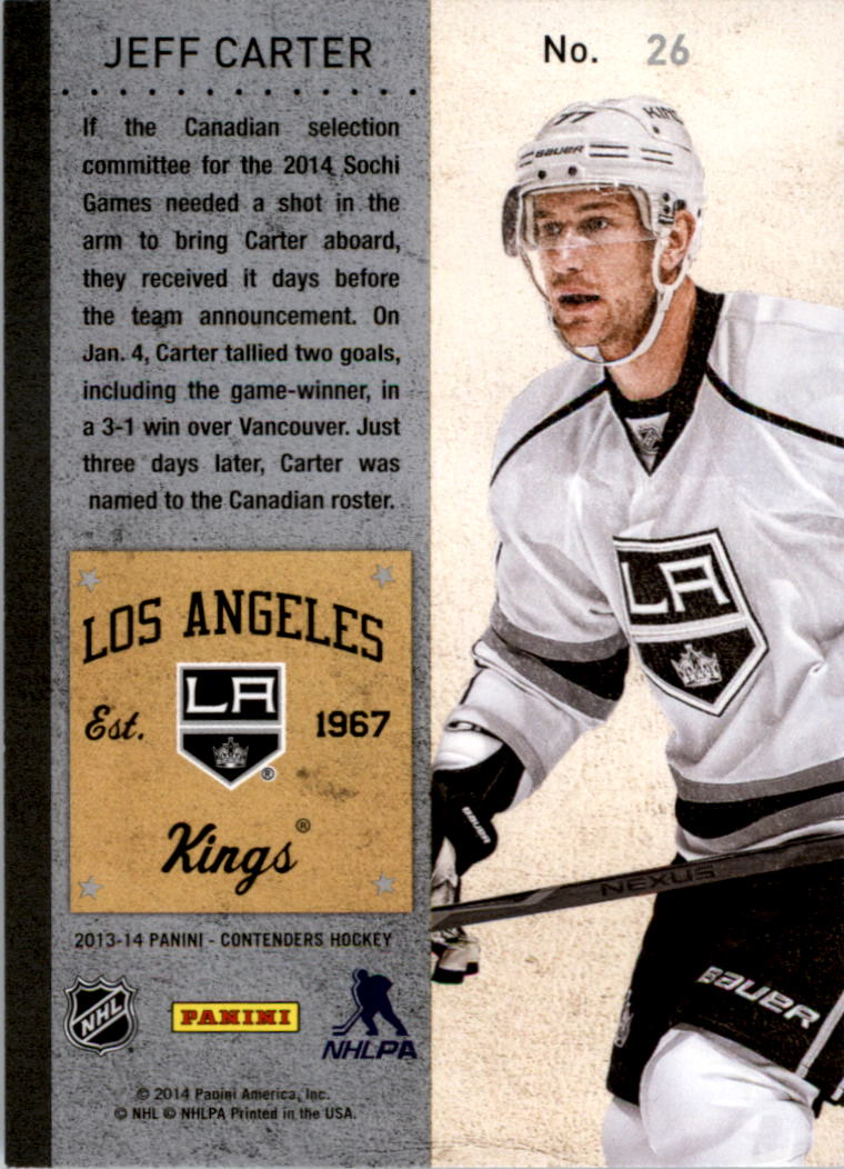 2013-14-Panini-Contenders-Hockey-Pick-Card-From-List thumbnail 39
