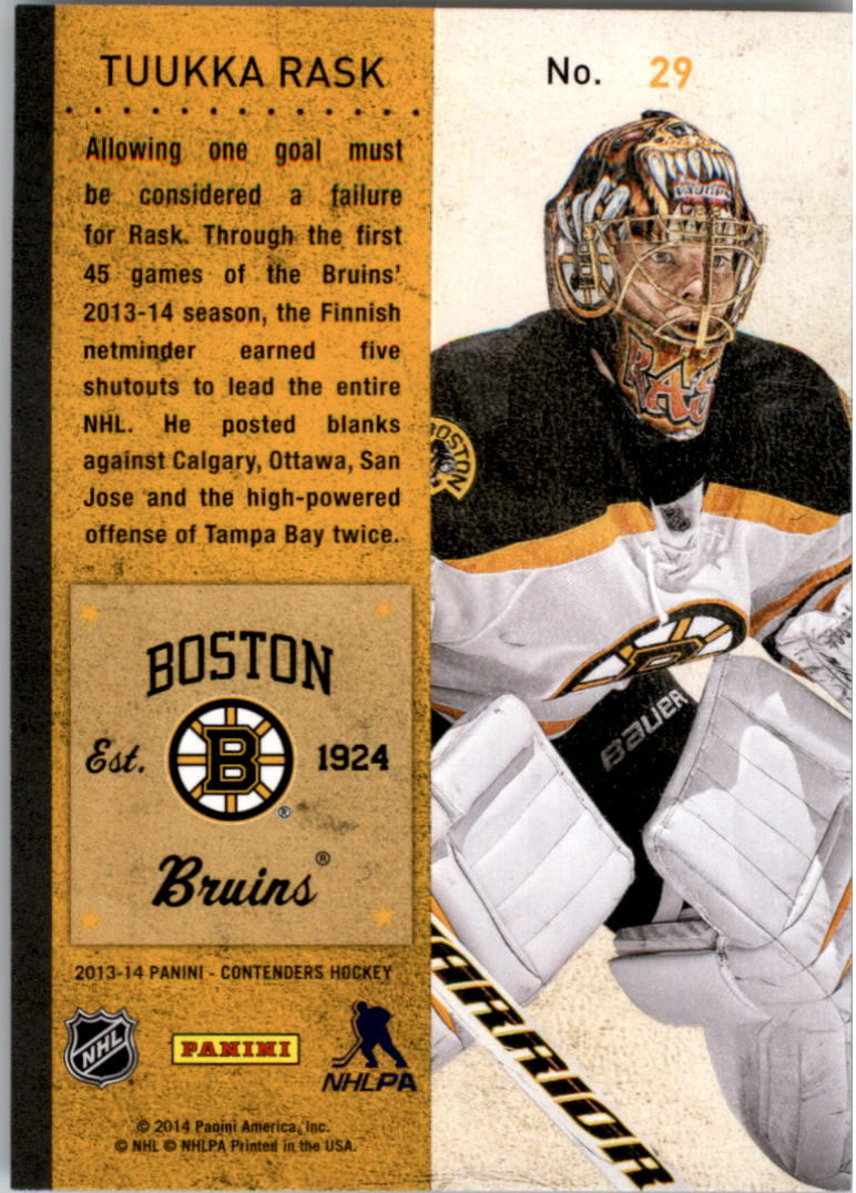 2013-14-Panini-Contenders-Hockey-Pick-Card-From-List thumbnail 43