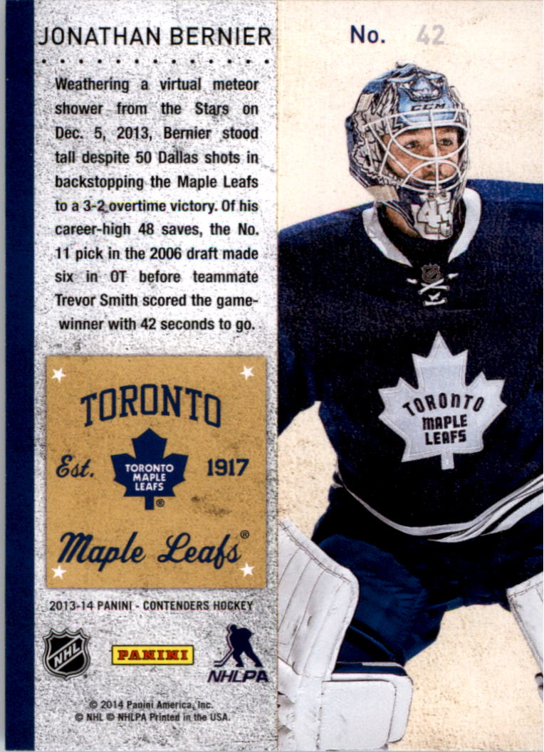 2013-14-Panini-Contenders-Hockey-Pick-Card-From-List thumbnail 59