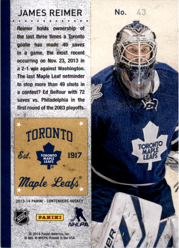 2013-14-Panini-Contenders-Hockey-Pick-Card-From-List thumbnail 61
