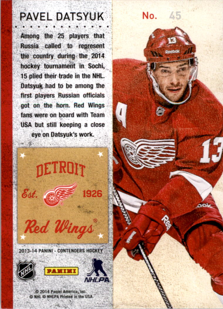 2013-14-Panini-Contenders-Hockey-Pick-Card-From-List thumbnail 65