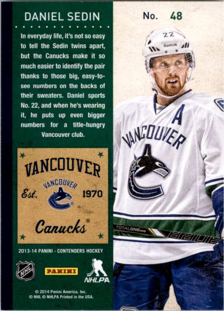 2013-14-Panini-Contenders-Hockey-Pick-Card-From-List thumbnail 71