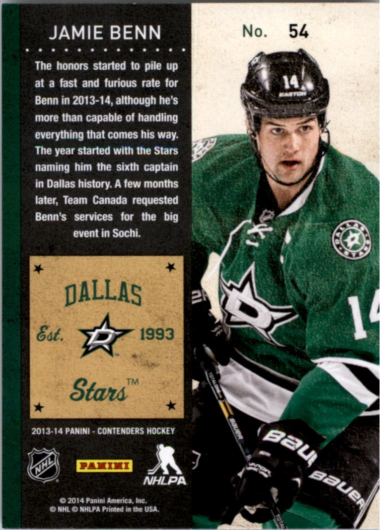 2013-14-Panini-Contenders-Hockey-Pick-Card-From-List thumbnail 83