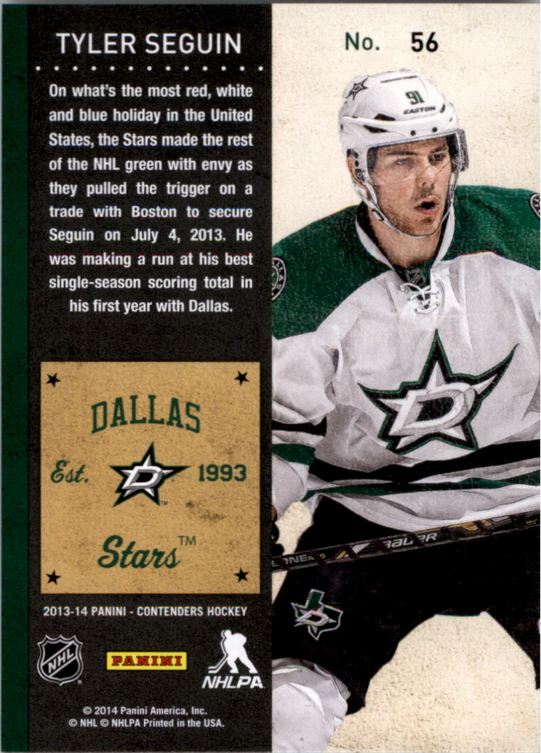 2013-14-Panini-Contenders-Hockey-Pick-Card-From-List thumbnail 87