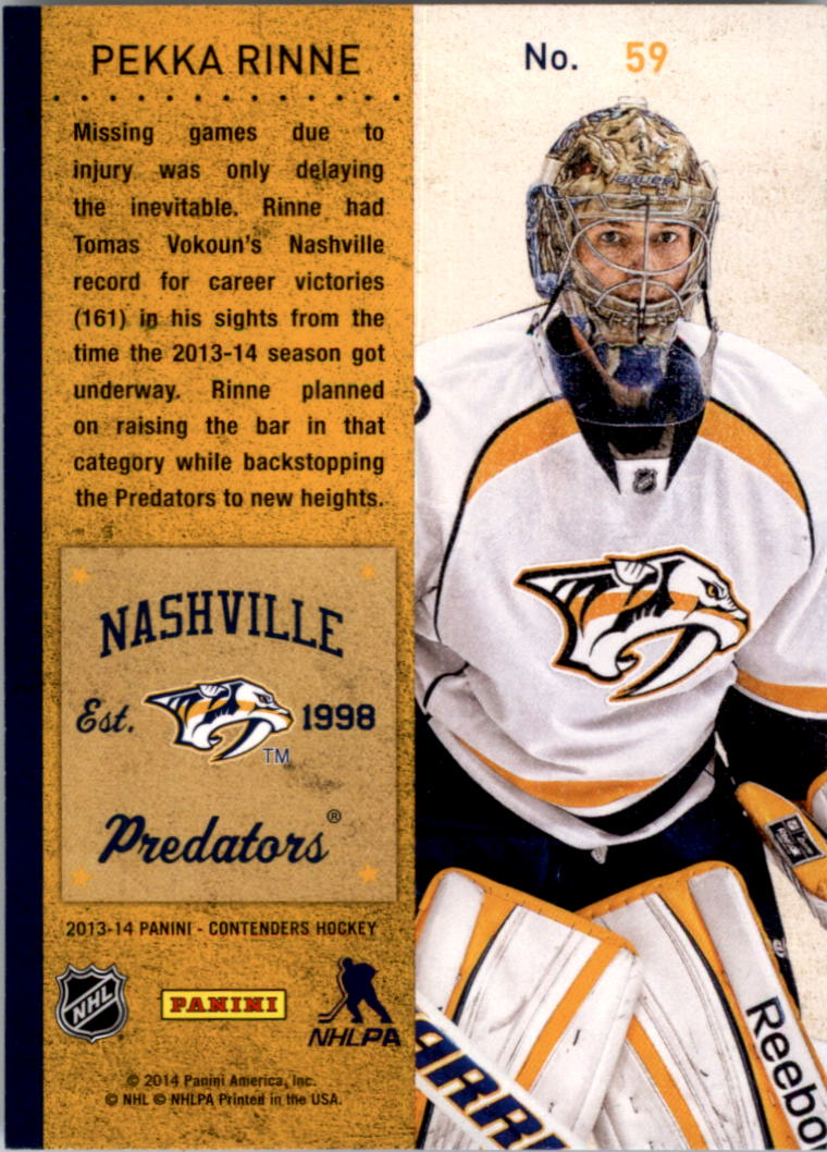 2013-14-Panini-Contenders-Hockey-Pick-Card-From-List thumbnail 89
