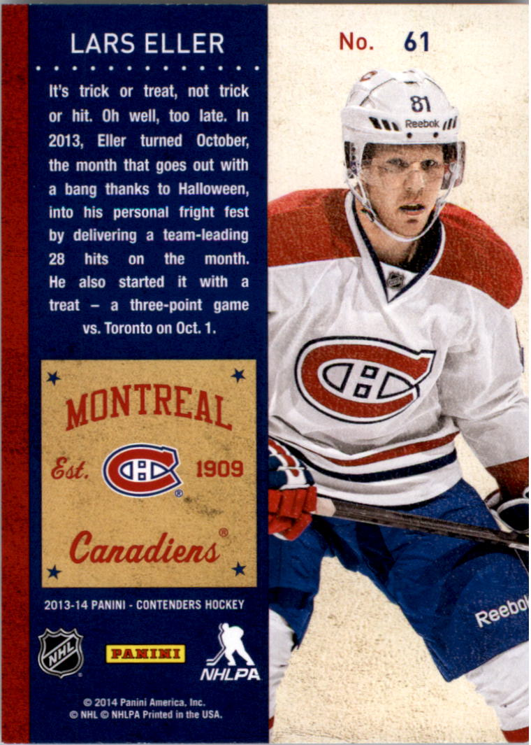 2013-14-Panini-Contenders-Hockey-Pick-Card-From-List thumbnail 93