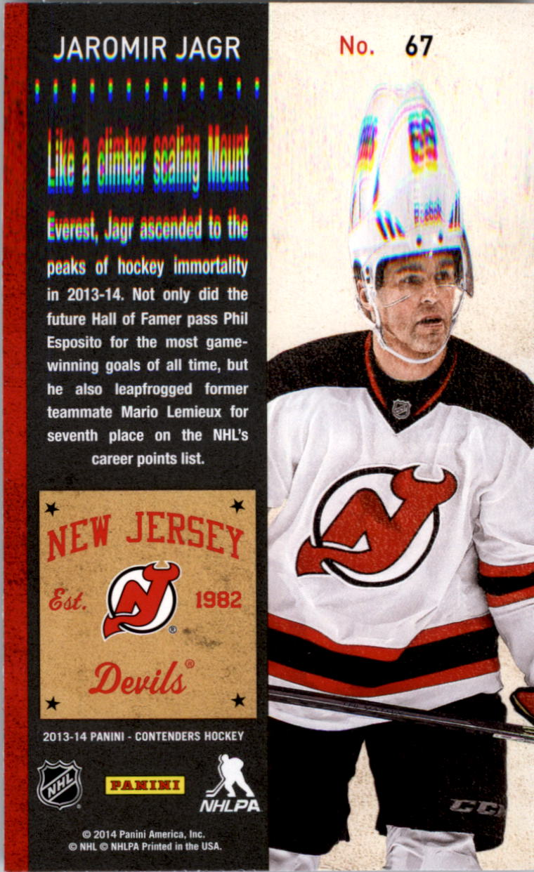 2013-14-Panini-Contenders-Hockey-Pick-Card-From-List thumbnail 101