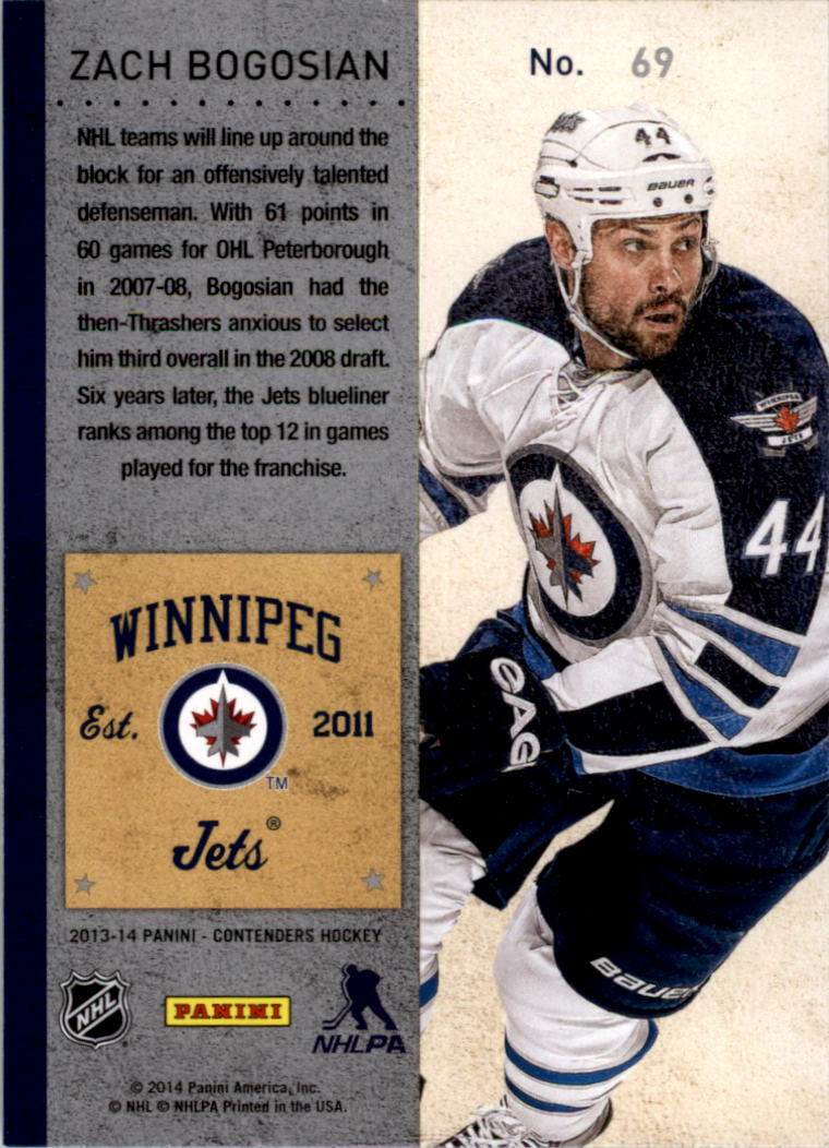 2013-14-Panini-Contenders-Hockey-Pick-Card-From-List thumbnail 105