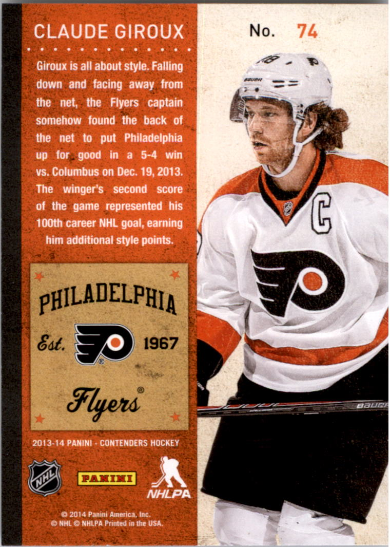 2013-14-Panini-Contenders-Hockey-Pick-Card-From-List thumbnail 111