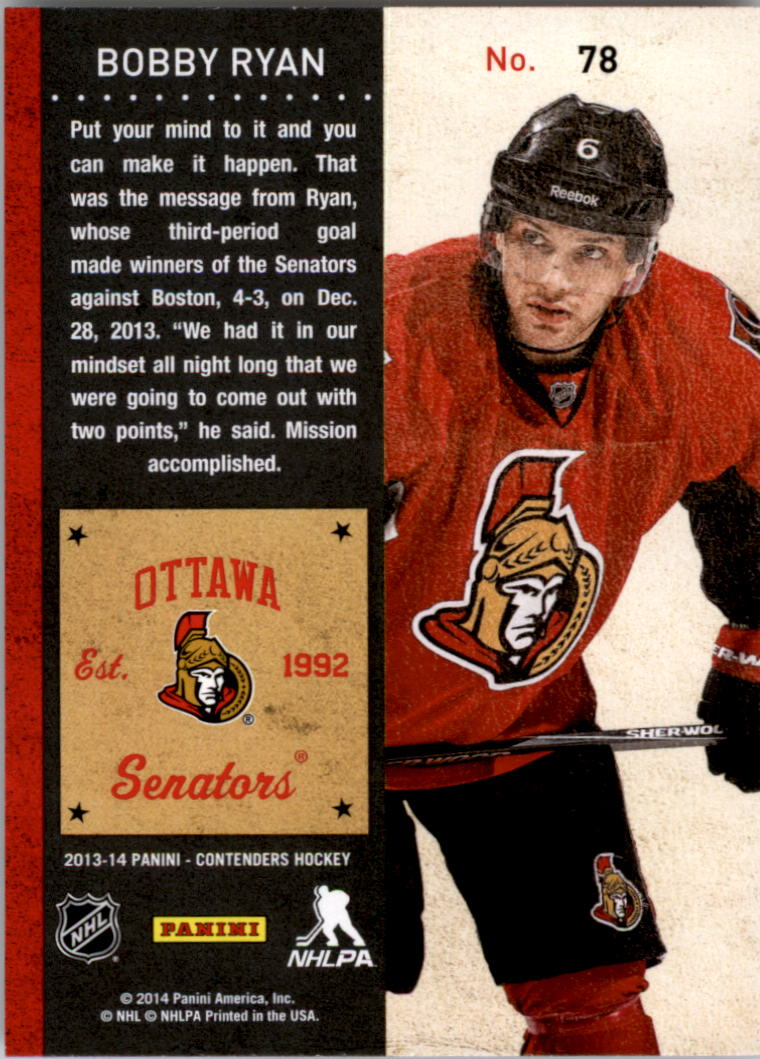 2013-14-Panini-Contenders-Hockey-Pick-Card-From-List thumbnail 117