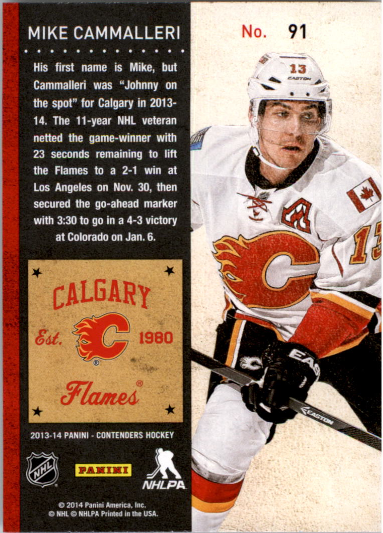 2013-14-Panini-Contenders-Hockey-Pick-Card-From-List thumbnail 135