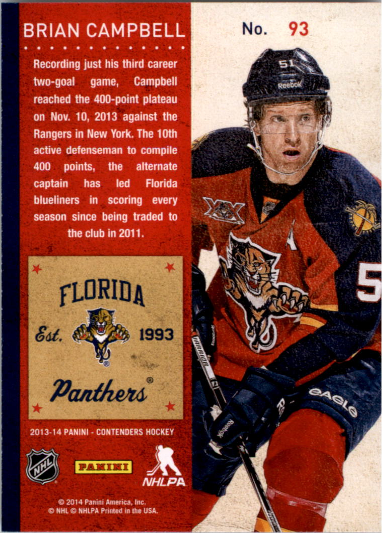 2013-14-Panini-Contenders-Hockey-Pick-Card-From-List thumbnail 139