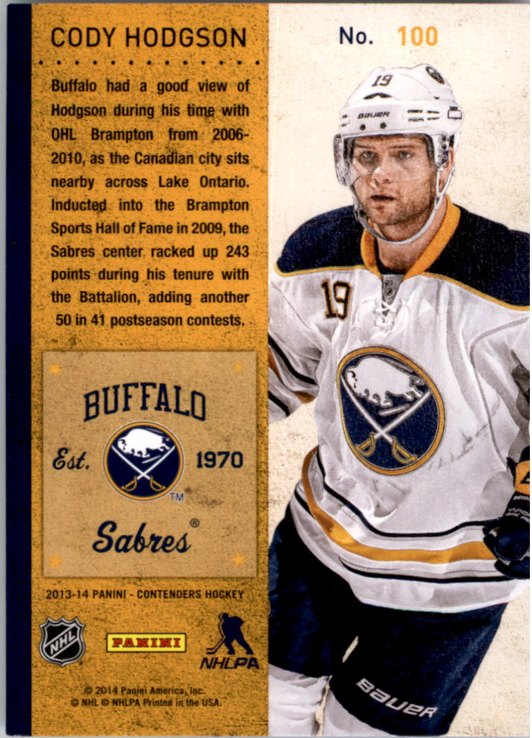 2013-14-Panini-Contenders-Hockey-Pick-Card-From-List thumbnail 151
