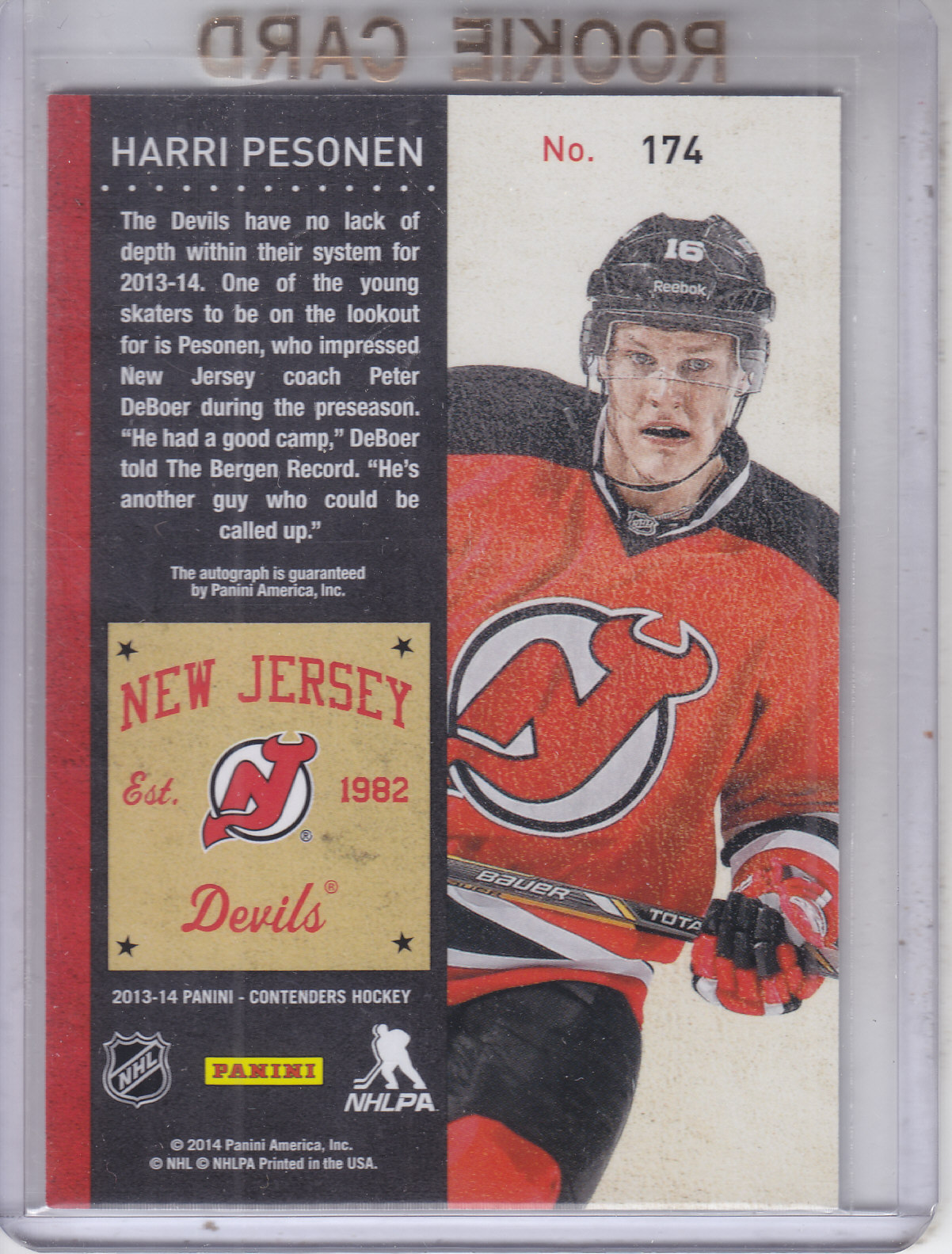 2013-14-Panini-Contenders-Hockey-Pick-Card-From-List thumbnail 159