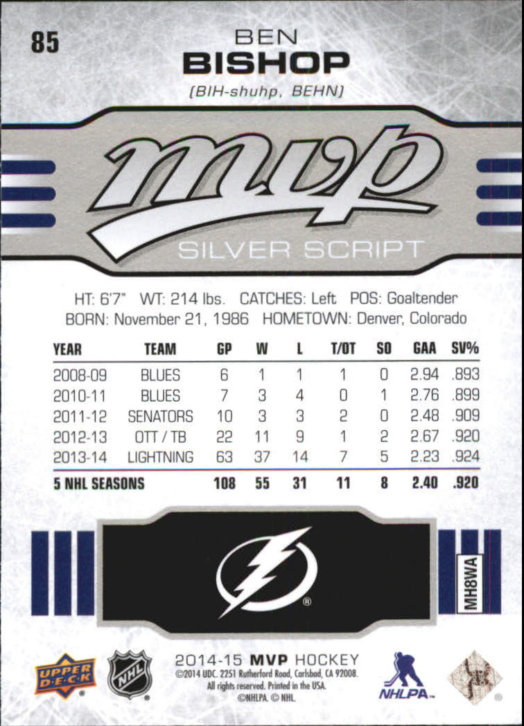 2014-15-Upper-Deck-MVP-Hk-251-SP-039-s-Inserts-U-Pick-Buy-10-cards-FREE-SHIP thumbnail 203