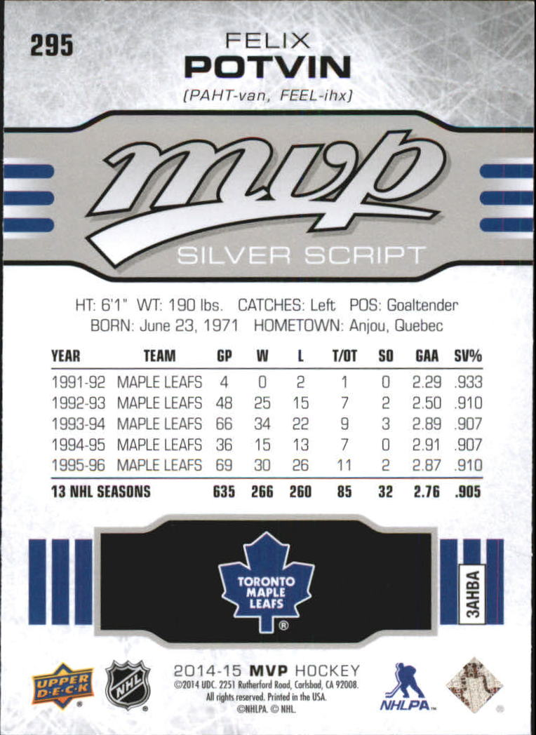 2014-15-Upper-Deck-MVP-Hk-251-SP-039-s-Inserts-U-Pick-Buy-10-cards-FREE-SHIP thumbnail 405