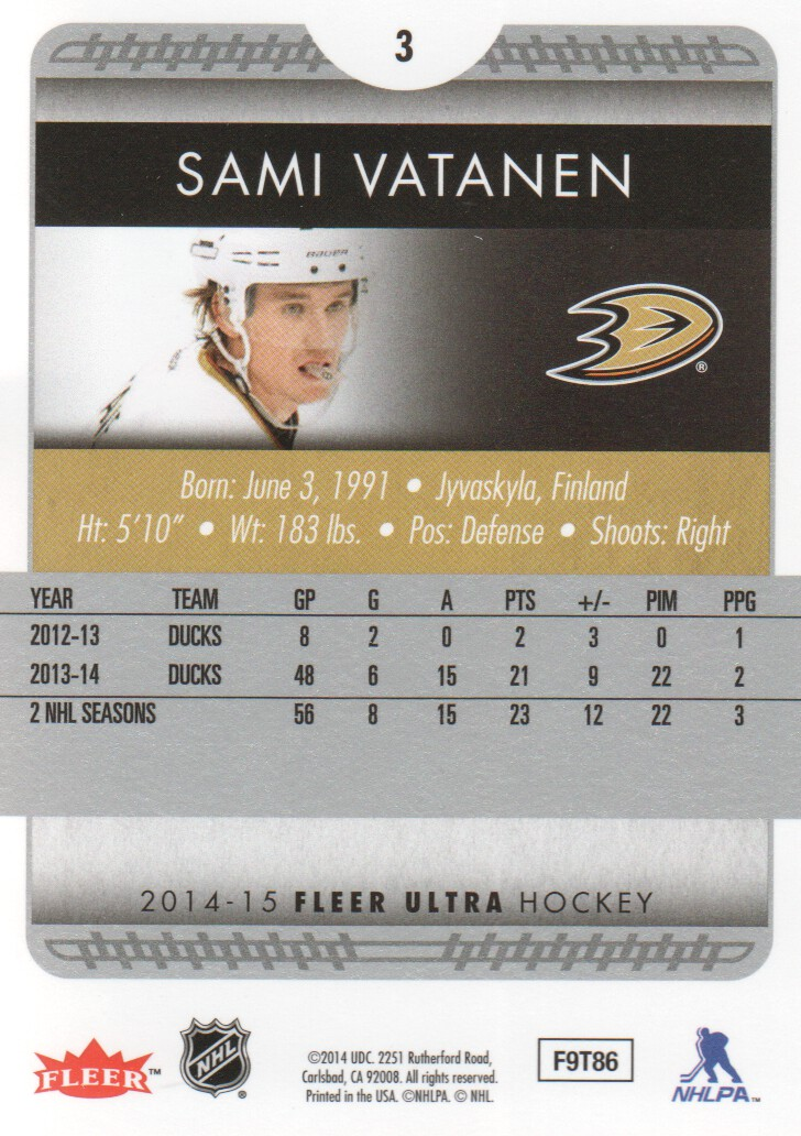 2014-15-Ultra-Hockey-Card-s-1-200-Rookies-You-Pick-Buy-10-cards-FREE-SHIP thumbnail 7