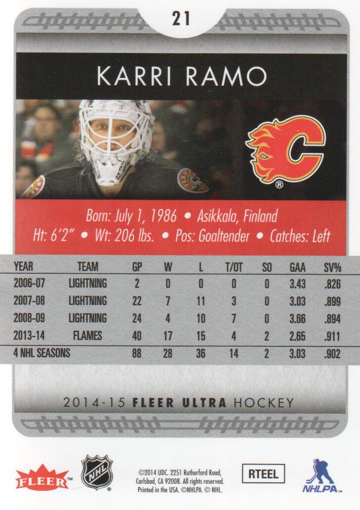 2014-15-Ultra-Hockey-Card-s-1-200-Rookies-You-Pick-Buy-10-cards-FREE-SHIP thumbnail 41