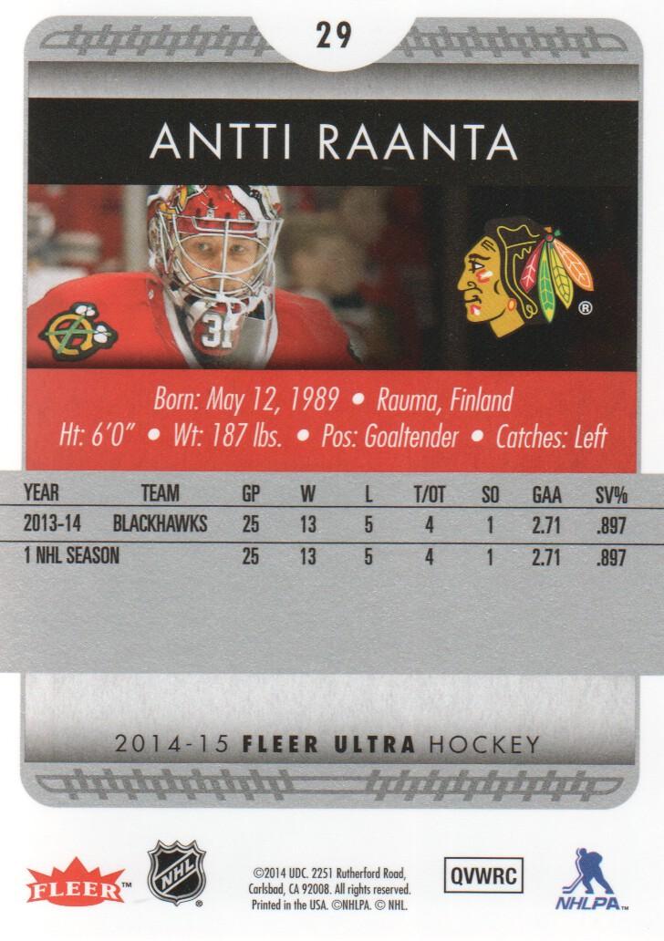 2014-15-Ultra-Hockey-Card-s-1-200-Rookies-You-Pick-Buy-10-cards-FREE-SHIP thumbnail 57