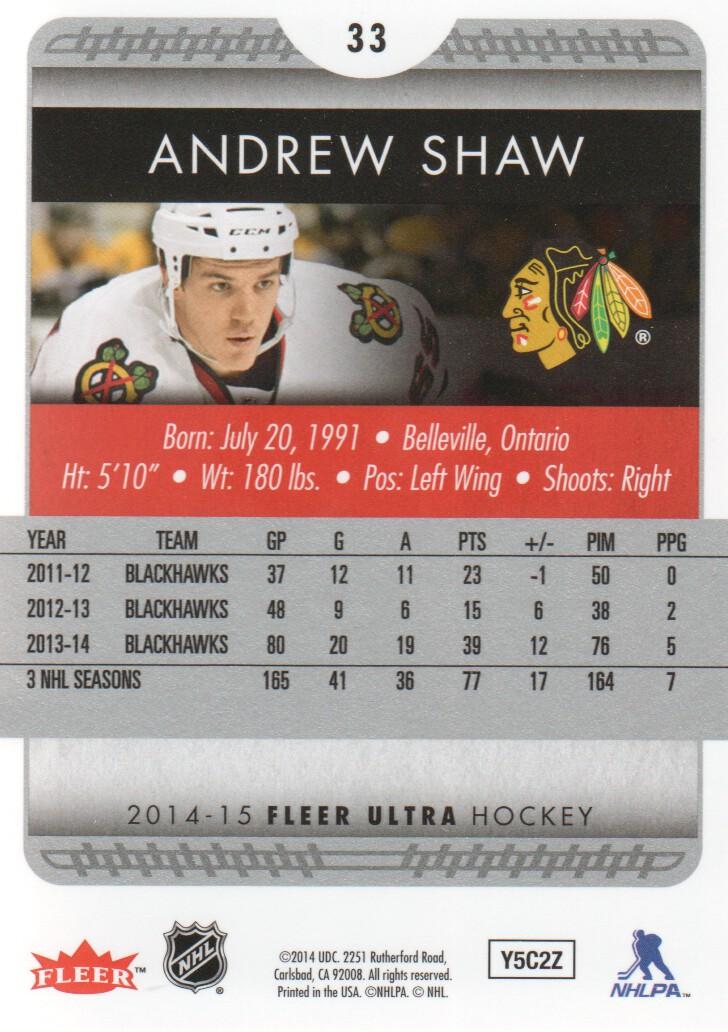 2014-15-Ultra-Hockey-Card-s-1-200-Rookies-You-Pick-Buy-10-cards-FREE-SHIP thumbnail 65