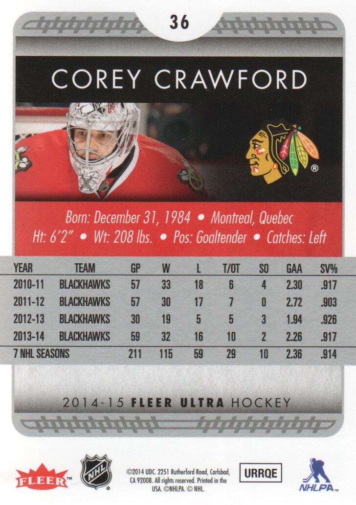 2014-15-Ultra-Hockey-Card-s-1-200-Rookies-You-Pick-Buy-10-cards-FREE-SHIP thumbnail 71