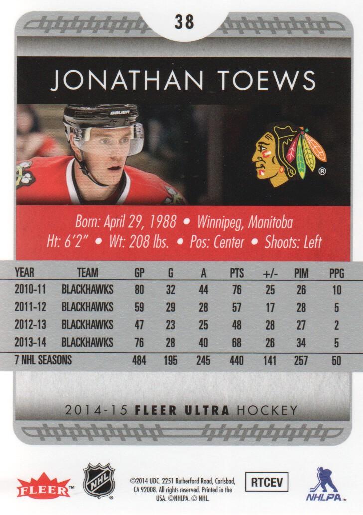2014-15-Ultra-Hockey-Card-s-1-200-Rookies-You-Pick-Buy-10-cards-FREE-SHIP thumbnail 75