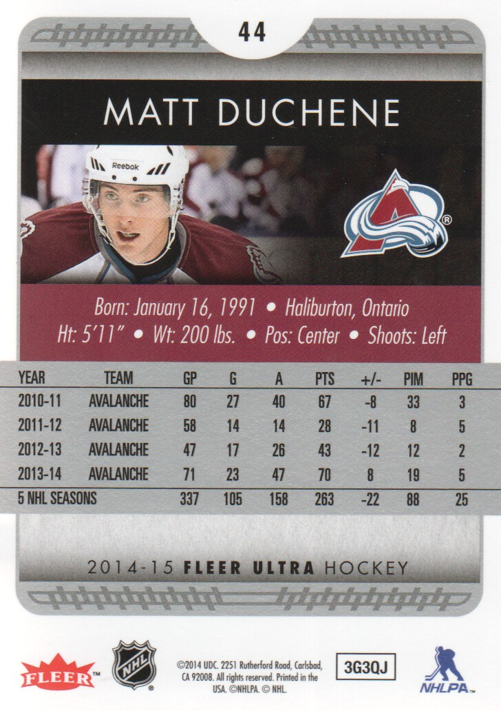 2014-15-Ultra-Hockey-Card-s-1-200-Rookies-You-Pick-Buy-10-cards-FREE-SHIP thumbnail 87