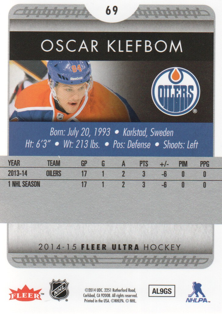 2014-15-Ultra-Hockey-Card-s-1-200-Rookies-You-Pick-Buy-10-cards-FREE-SHIP thumbnail 137